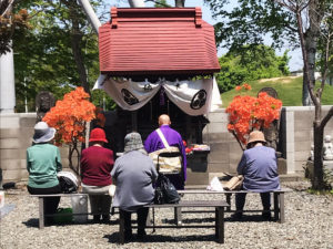 春季平岸中の島三十三番観音祭