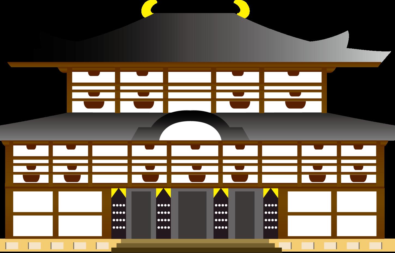 寺院イラスト
